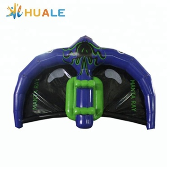New Inflatable Flying Manta Ray Inflatable Flying Fish Tube Towable