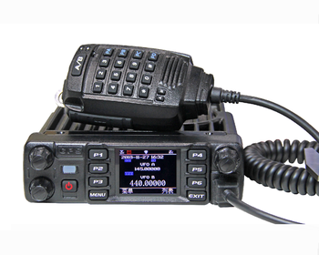 AT-D578UV Digital DMR mobile radio dual band UHF/VHF, View Digital mobile  radio, ANYTONE, ANYTONE Product Details from Qixiang Electron