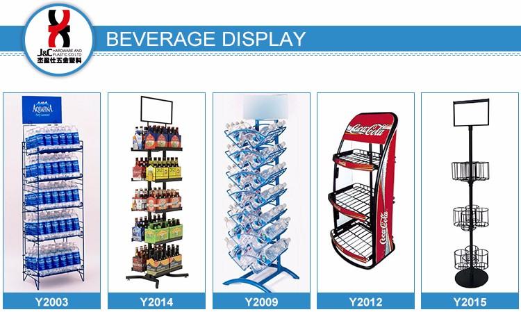 Retail Shop Spirit Wine Display Rack/floor Standing Wine