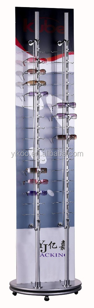 rotating acrylic sunglasses display stand