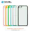 2D Sublimation Plastic Phone Shell for iPhone 5C