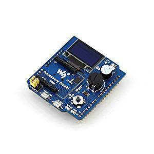 Angelelec DIY Open Sources Sensors, Accessory Shield, Easy to Use, Comes With Underlying Function Libraries for All of the Onboard Accessories, Just Call the Related Function, Onboard Xbee Interface