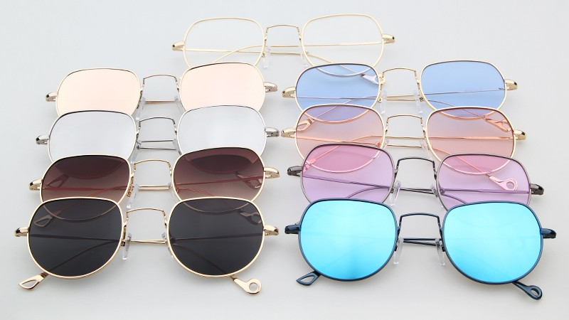 new design sunglasses  Wholesale ADE WU new design small square fashion clear lenses ...