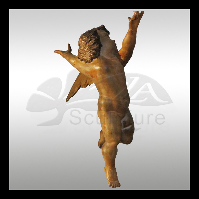 high quality brass angel figurines