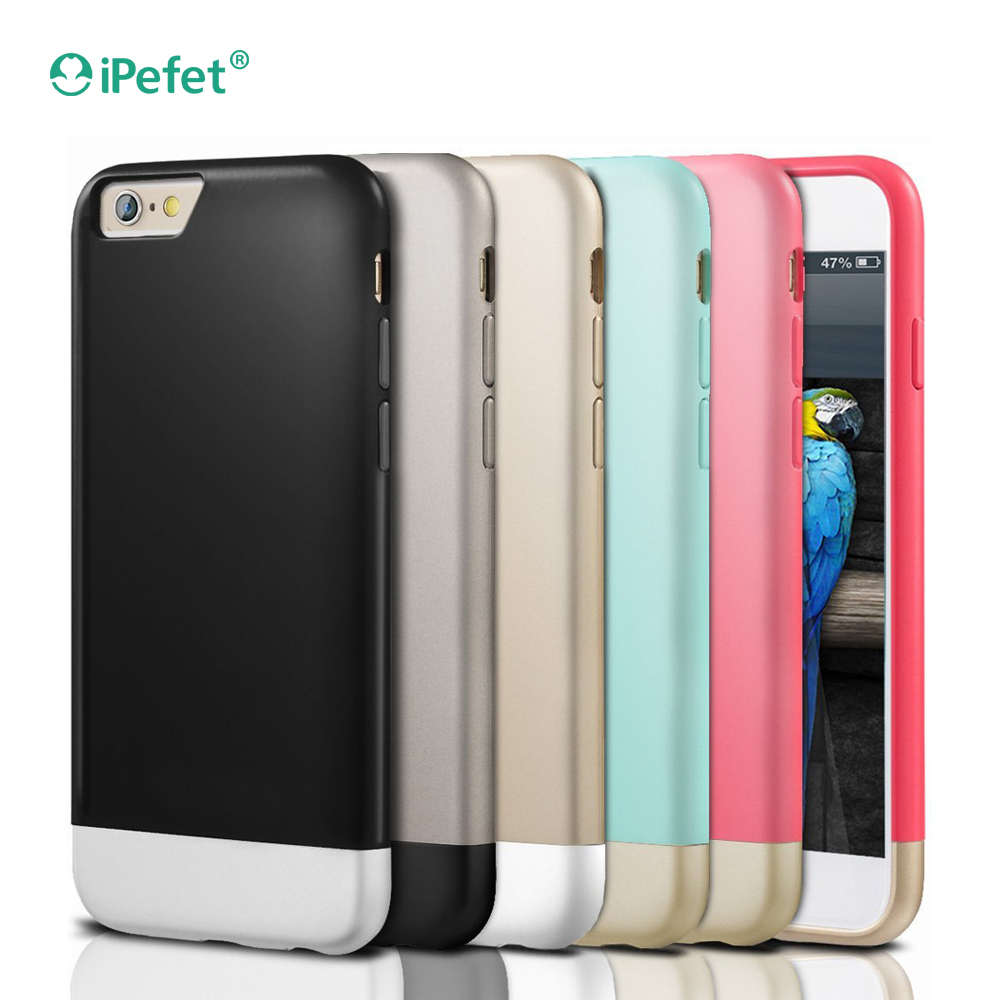Wholesale Accessories Smartphone New Design 2 in 1 Color Slider Cell Phone Case For iPhone 6/6s