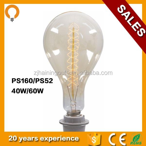 a160 e26 light bulbs e27 100w 220v vintage edison light. Black Bedroom Furniture Sets. Home Design Ideas