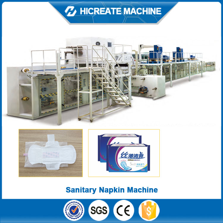 China Factory Supply Cheap sanitary pads making machine with best quality and service