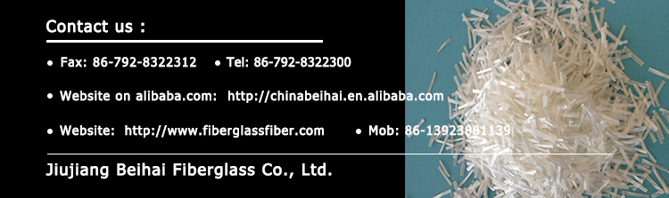 Thermoplastic As/abs Application Ar Glass Fiber Chopped Strand For ...