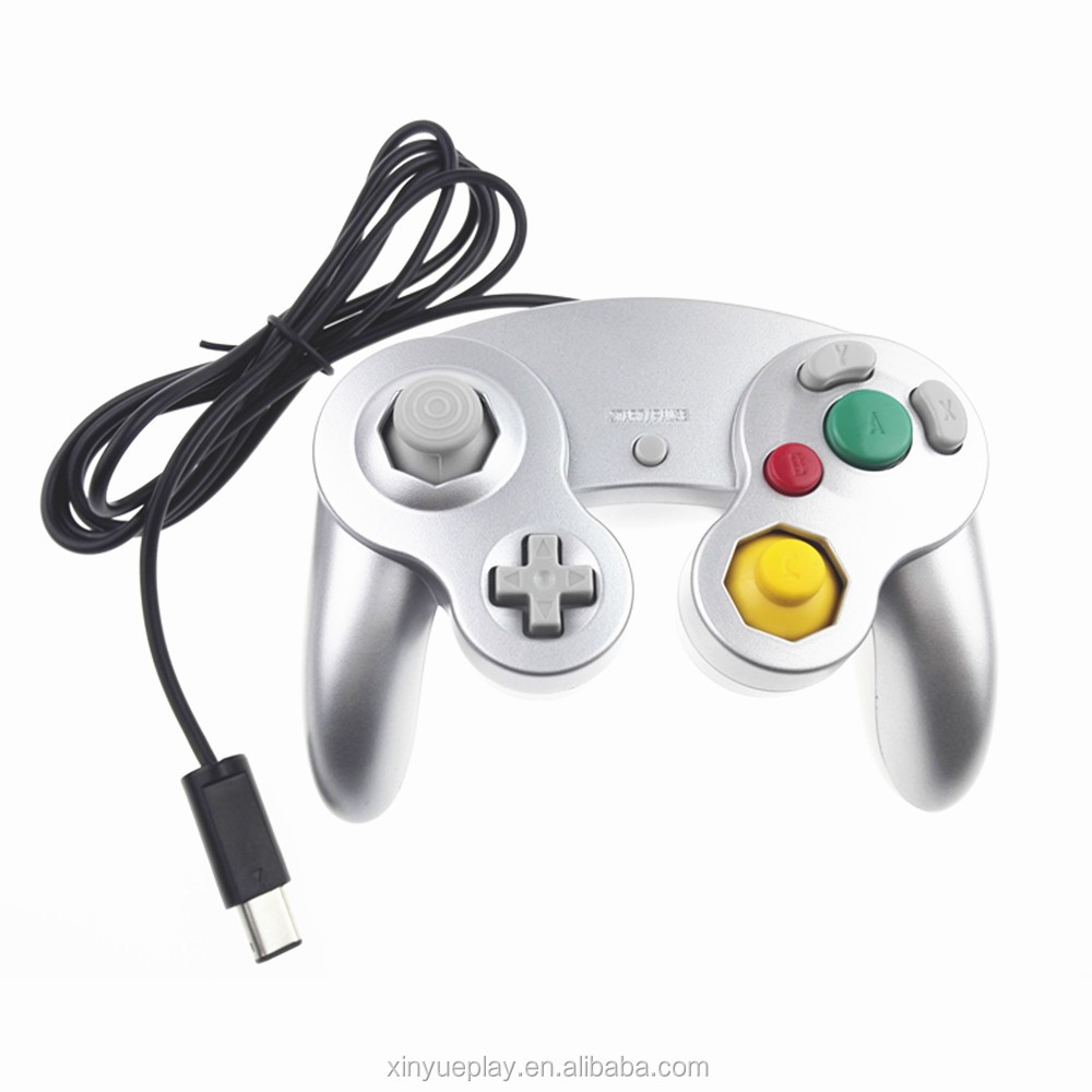 Factory price slivery universal gamecube controller