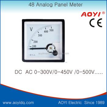 48 Analog Panel Ammeter Analog Voltage Meter