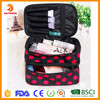 2016 New Double Layer Travel Storage Cosmetics bag makeup bag organizer