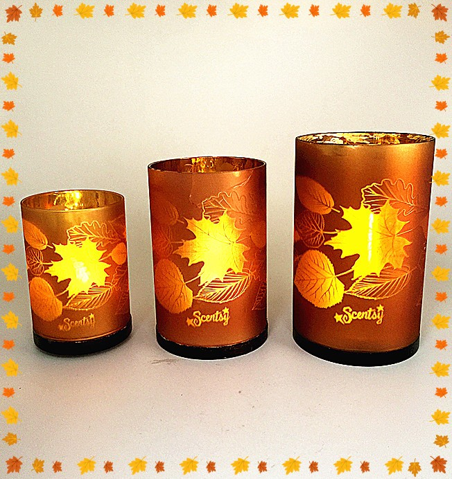 Home Decor Leave Candle Holders
