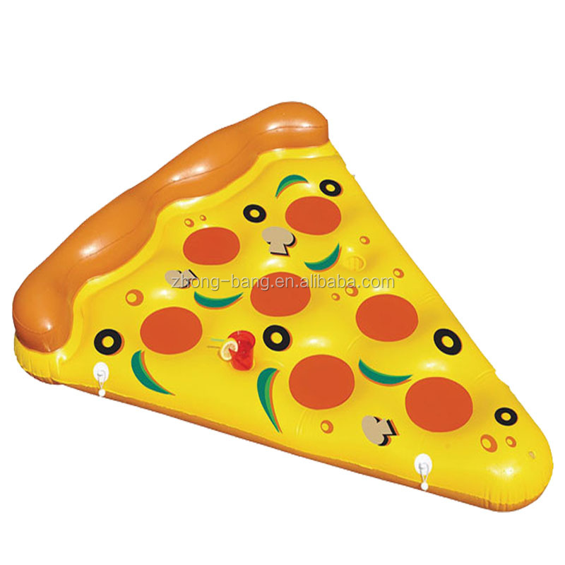 giant Inflatable pool floats pizza slice float mattress for summer time
