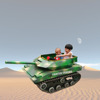 Small mini rubber tracked all terrian tank vehicles for kids