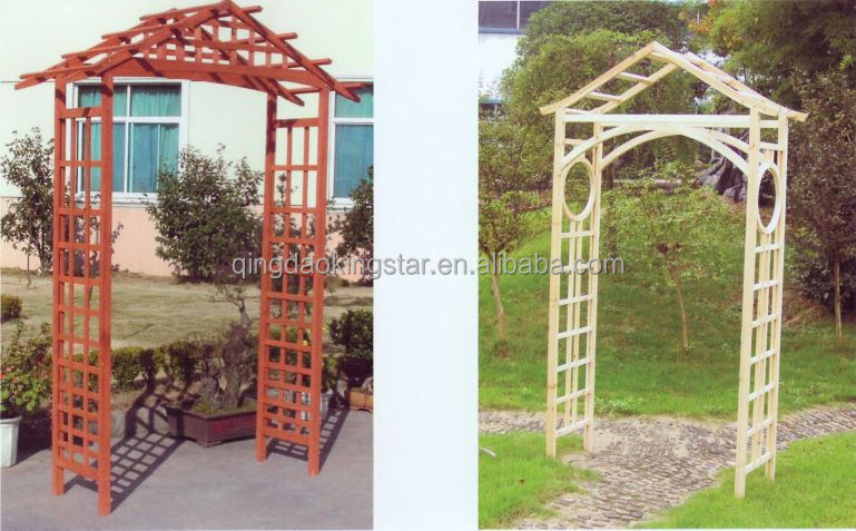 Outdoor Solid Wood Wooden Garden Arch Designs Buy Wooden Garden