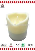 LED soft silicone candle cheap mini christmas lights