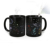 CCT019 Hot Water Colour Changing Black Sublimation Mug Constellation Pattern Magic Tea Mug