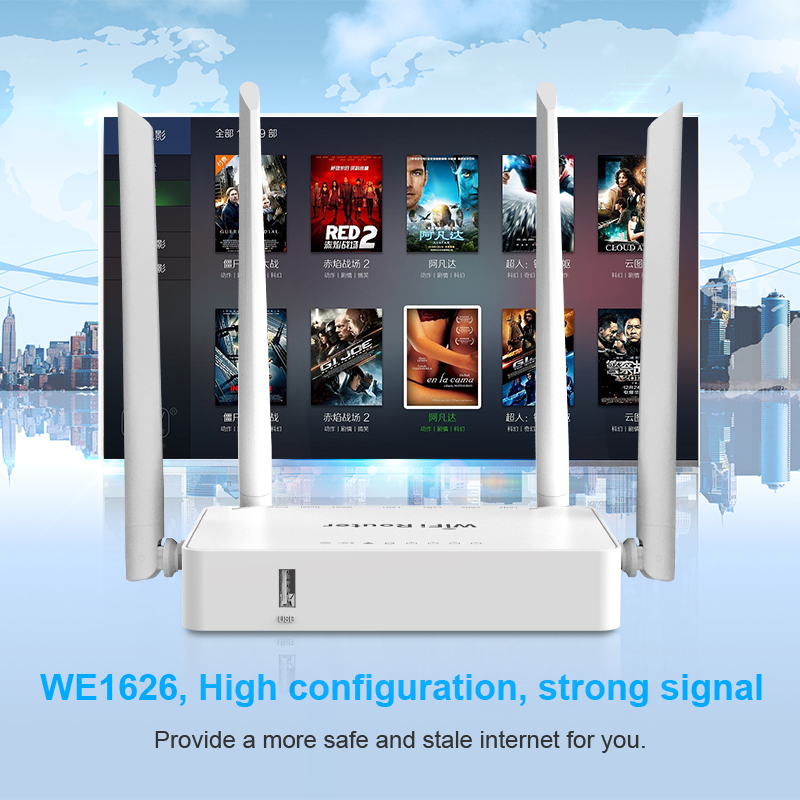 zbt direct sell 300Mbps 802.11n home use wifi router wireless 192.168.1.1