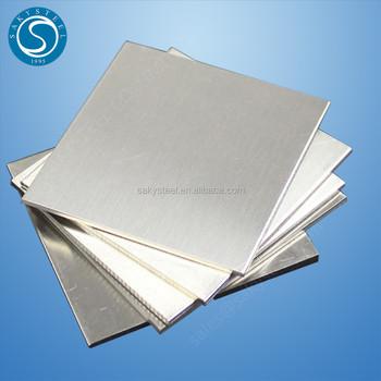 4x8 sheet of 16 gauge stainless steel