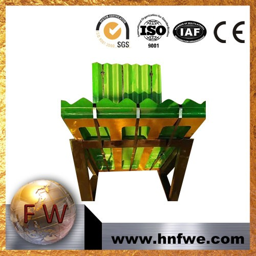 China Manufacture mn steel Jaw Plate for Stone Breaker Crusher Equipments