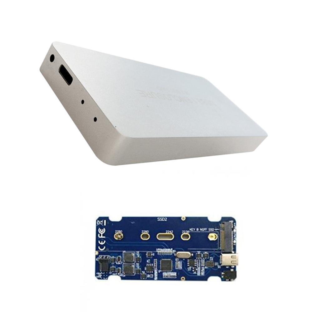 M.2 NGFF SATA 2 Lane SSD Enclosure for E431 E531 80mm USB-C USB 3.1 Type C