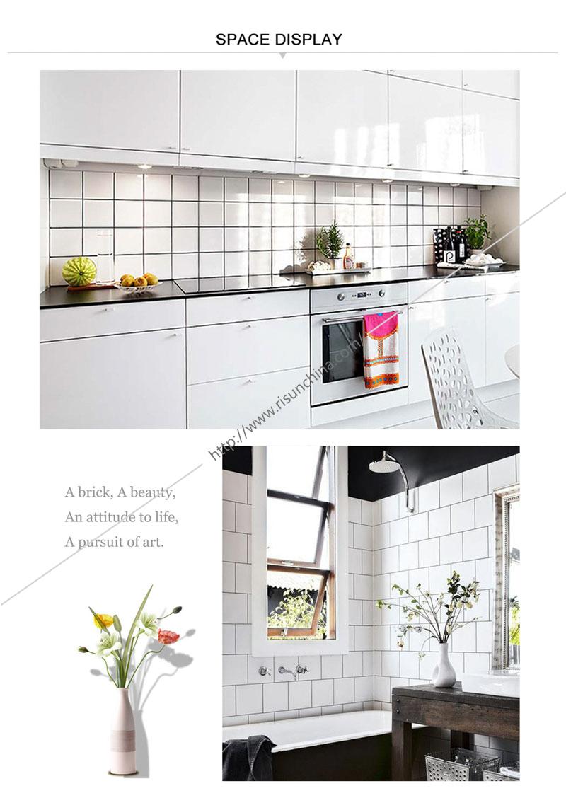 New Trend Bedroom Kitchen Bathroom Decorative China Porcelain Mosaic ...