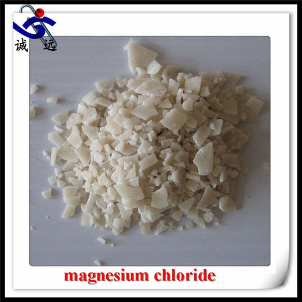 Industry Magnesium Chloride / MgCl26H2O yellow