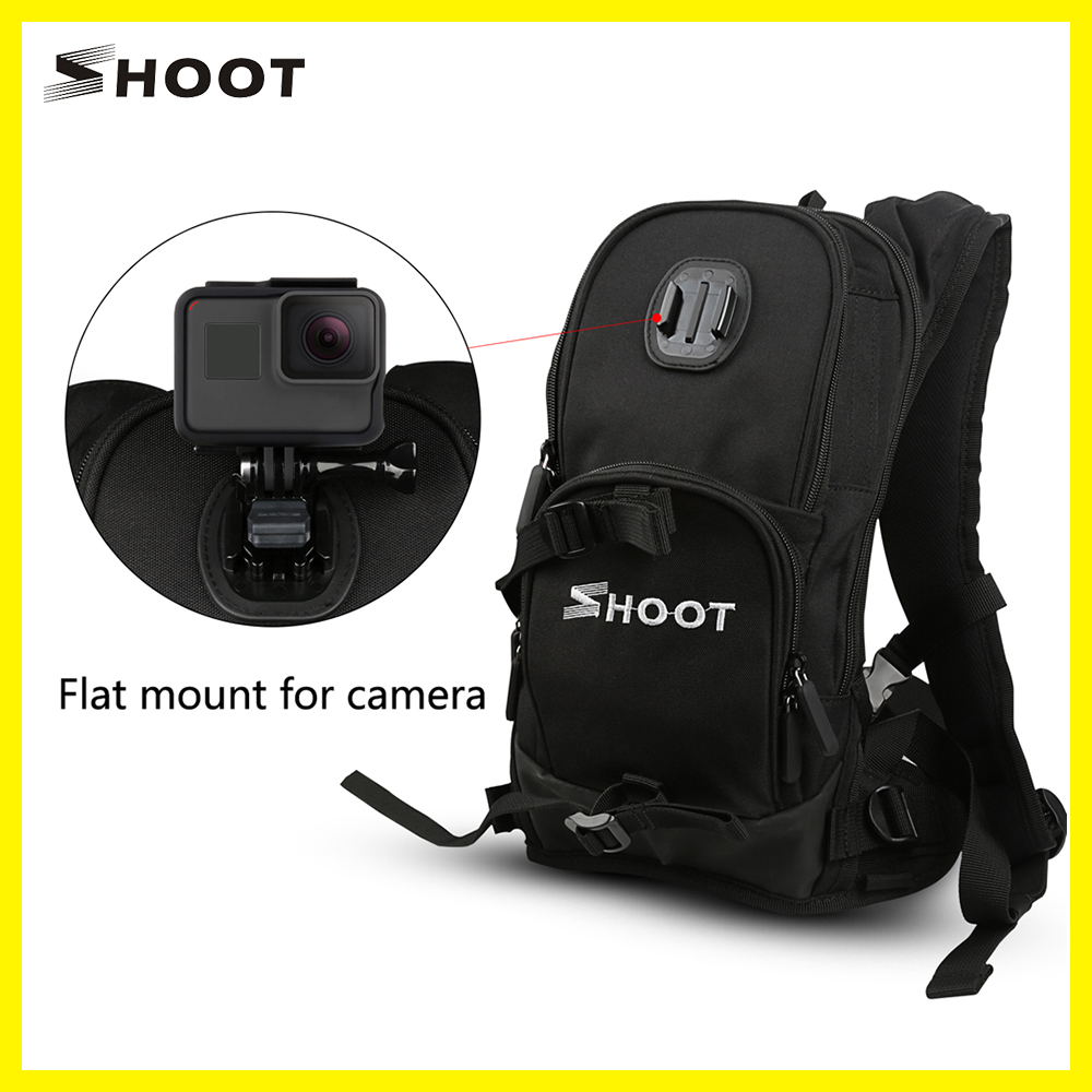 SHOOT Camera Go Backpack for gopro Outdoor Game Backpack Self Time Autodyne Angle Backpack for gopro SJ4000 Camera
