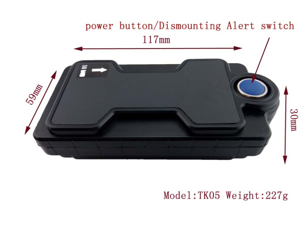 Long Battery Life Mini Gps Tracker With Magnet And Waterproof For Car Vehicle With Mah Battery