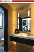 Unique style bathroom led lighting mirror bathroom vanities with mirror