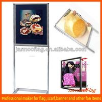 outdoor standing advertising poster board