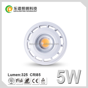 Beam Angle Adjustable 30 to 80 Degree Zoom LED mr16 lenses spotlight 5w LED Spotlight MR16 12V CE ROHS