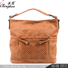 Hot style wholesale ladies hobo hand bag/single shoulder bag women leather handbag bag factory direct sale