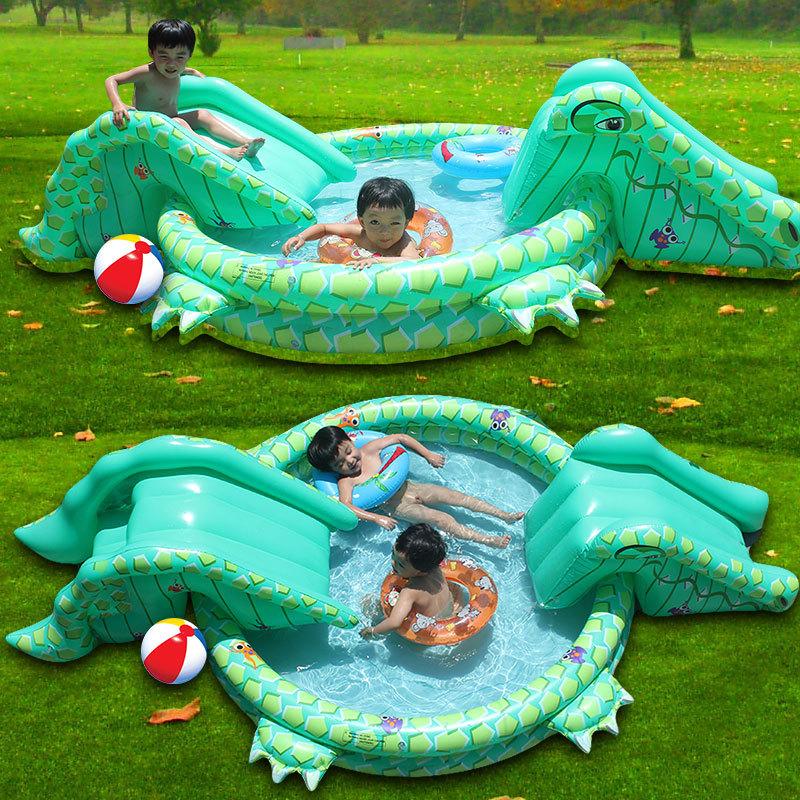 2014 nouvelle grande piscine gonflable b b crocodile. Black Bedroom Furniture Sets. Home Design Ideas