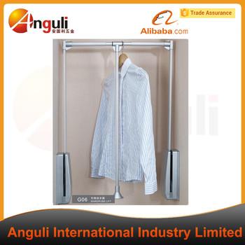 High Quality Closet Rod Pull Down Aluminum Wardrobe Lift