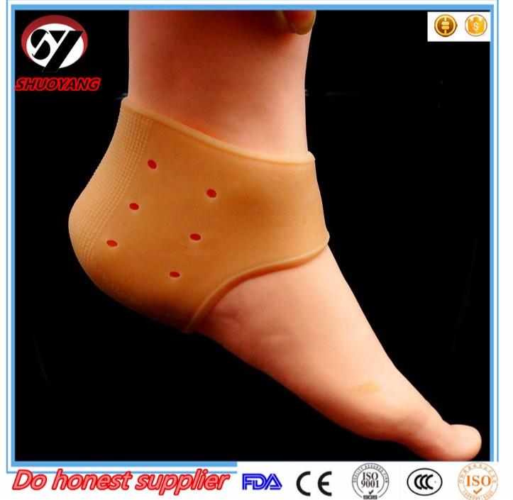 Shuoyang Silicone Heel Cushion Shoe Insert Pad Insole
