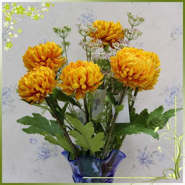 Fresh Cut Fake Cheap Chrysanthemum Decoration Flowers Artificial ...