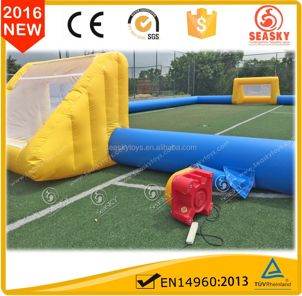 Excellent quality inflatable football pitch,football arena inflatable,inflatable gladiator arena