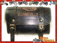 TRIUMPH BONNEVILLE CUSTOMIZED GENUINE LEATHER TOOL BAG