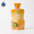 Bottle shape juice standing pouch liquid bottle pouch baby pouch with straw inside