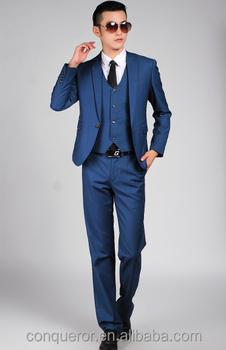 blue modern suit suit la