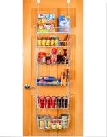 Cabinet Spice Shelf Can Food Storage Door Pantry Organizer Kitchen Hanging Spice Rack