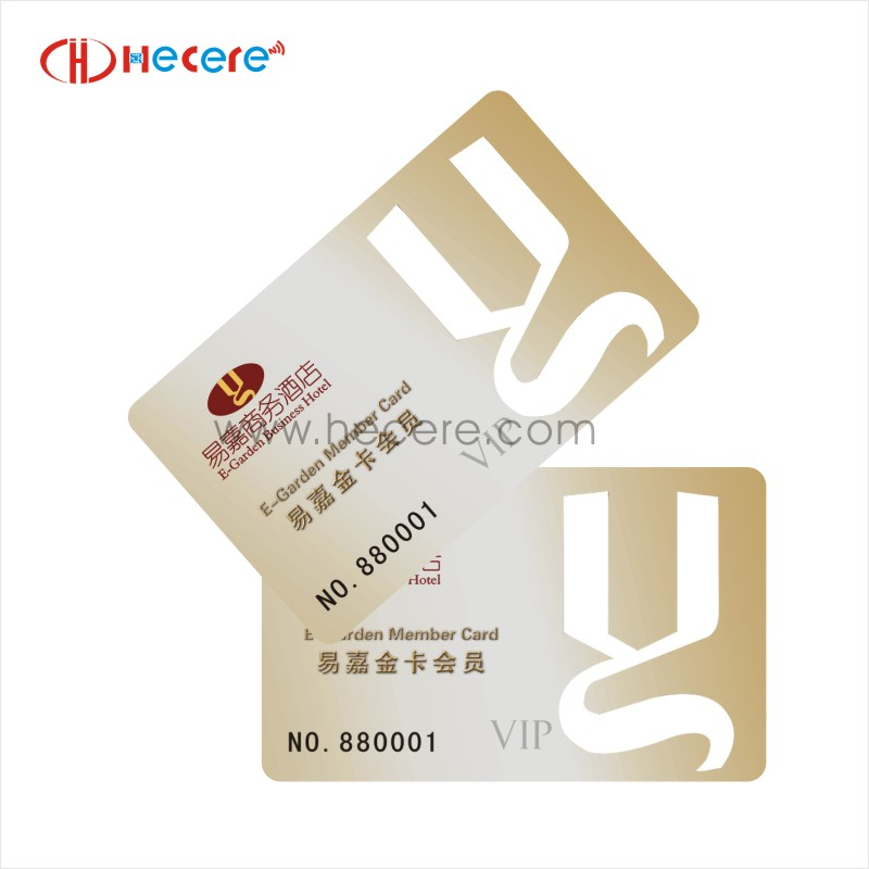 Free Sample Available Custom Shape RFID Card from Profesional Maker for Car Parking Management