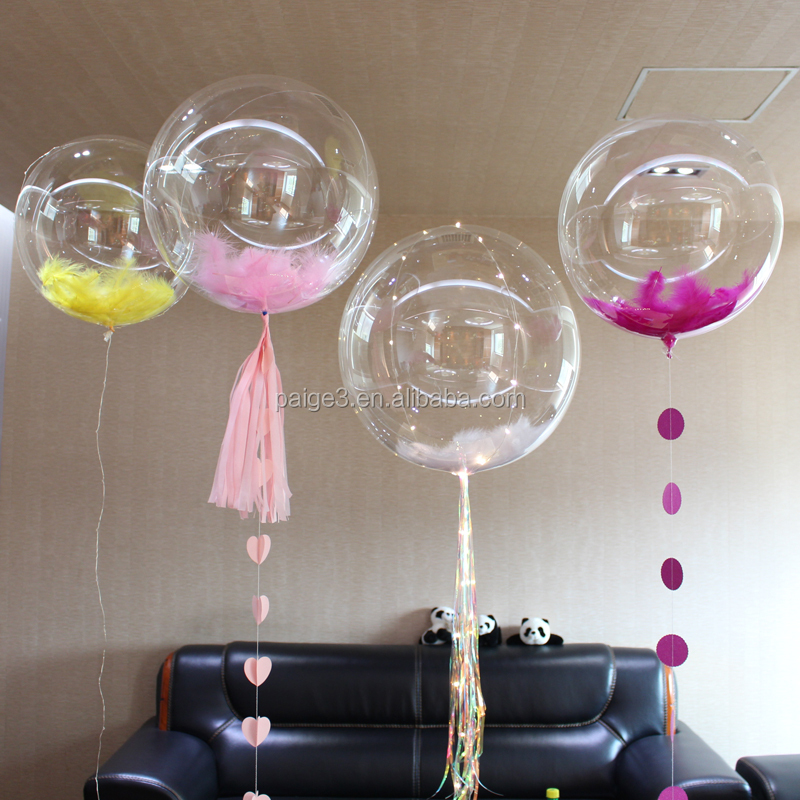 5Pc Clear Latex Balloon Wedding Birthday Party Baby Shower Decora 12//18//24//36/""