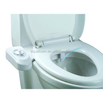 Aquatown Single Nozzle Simple Fresh Water Sprayer Bidet Toilet Seat Attachment View Bidet Toilet Seat Aquatown Product Details From Xiamen Aquatown Technology Co Ltd On Alibaba Com