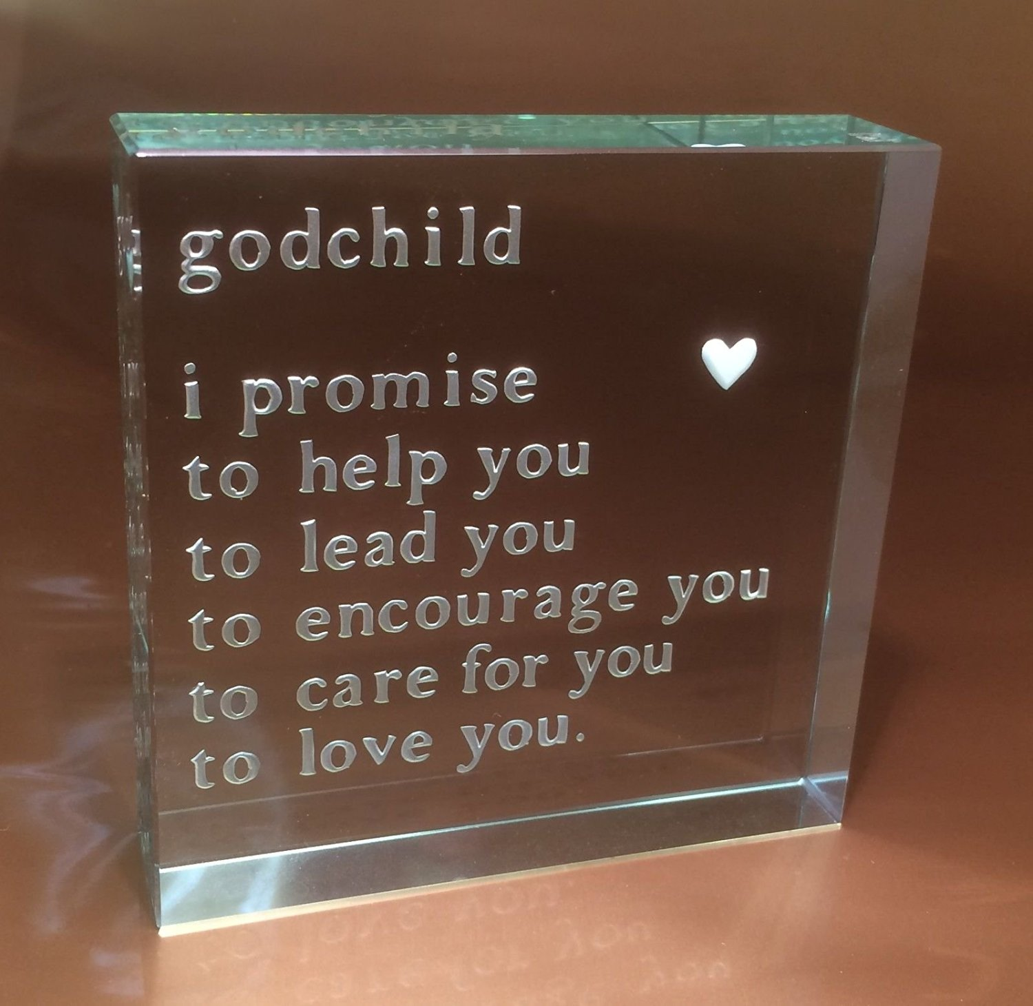 Spaceform Paperweight Christening Gifts Godchild Baptism Gift Ideas