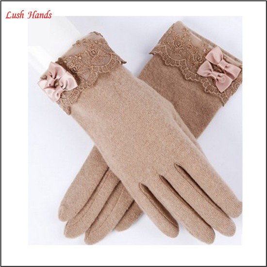 gril sex cheap wool smart phone gloves