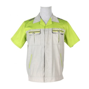 Factory Work 100 % Cotton Labor Insurance Overalls Cleaner Work Clothing Uniforms Workwear