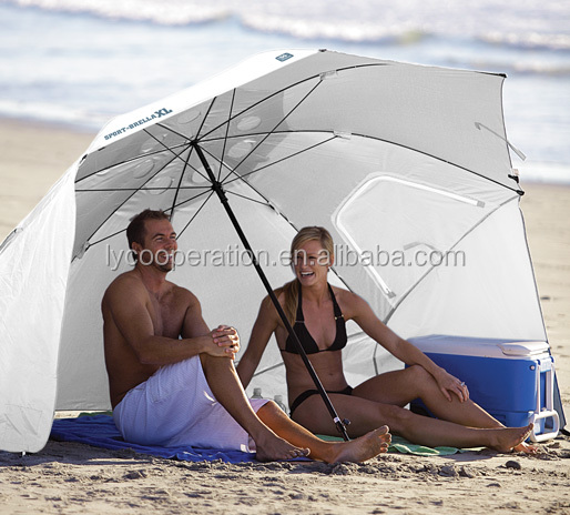 Portable Umbrella Beach Sun Protect Shelter Shade Canopy C& Tent & Portable Umbrella Beach Sun Protect Shelter Shade Canopy Camp Tent ...