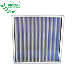 FRS-PMF Aluminum frame metal mesh air filter (manufacture)